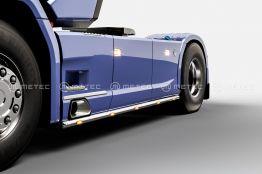 Scania sivuputki 3750mm, 680€ ja 882€